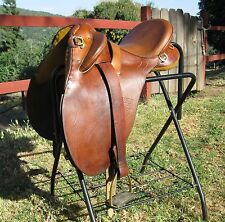 Syd Hill & Sons Australian saddle, Aussie Saddle, Station Poley Mark 6