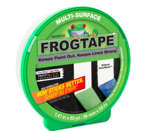 Frog Tape 36mm x 55m Multi Surface Painting Masking Tape Paint