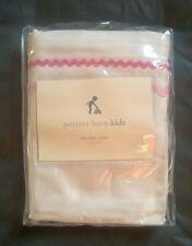 Pottery Barn Kids Pink Ric Rac Liner For Sabrina Basket Extra Large