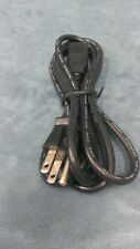 Lot of 50 3 Prong Wired 125V 6 Foot Black Power Cord NEW