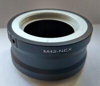M42-NEX Adapter/to Sony NEX Camera E-Mount