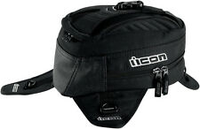 ICON Primer Magnetic Motorcycle Tank Bag / Backpack (Black)