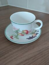 M&S Ashberry Cup and Saucer St.Michael - very good condition Marks & Spencer