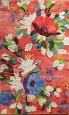 """NEW ANTHROPOLOGIE RUG """"MAGNOLIA"""" MULTI FLORAL WATERCOLOR BRUSH STROKES 3 X 5 FT"""