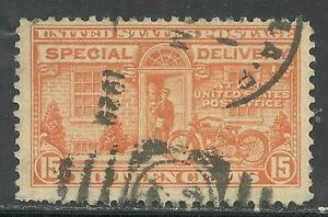 U.S. Special Delivery Stamp scott e13 - 15 cent issue of 1925