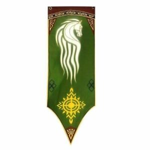 Lord Of The Rings Rohan Banner Flag LOTR Gondor The Hobbit Comic Con Film UK