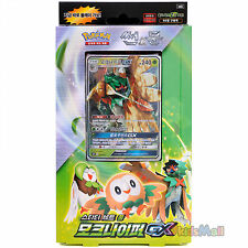 Jeu de Cartes Pokémon Soleil et Lune Deck à Thème Sentinelle Sylvestre Coréen