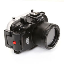 Meikon 40M Waterproof Housing Case for Sony A5000 ILCE-5000 Camera +16-50mm Lens