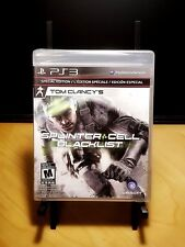 SPLINTER CELL Special Edition PS3 NEW Factory Sealed Black Label version - 2013