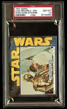 LUKE REPAIRS C3PO 1977 Star Wars ADPAC General Mills Cereal Sticker PSA 10 POP 1