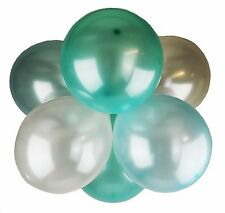 Pack of 25 12'' Latex Pearl Baby Boy Xmas Balloons Wedding Party Helium Air