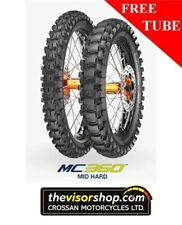 110/100-18 Metzeler MC360 (MID HARD)  Motocross Motorcycle Tyre - inc FREE TUBE