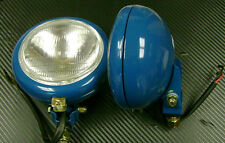 Fordson Super Dexta Tractor Pair of Head Lamps Front Fixing