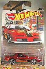 2016 Hot Wheels 10/10 Hot Wheels Garage Series 80's PONTIAC FIREBIRD Red w/Pr5Sp