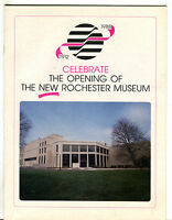 1912-1988 Celebrate The Opening Of The New Rochester Museum EX 022316jhe