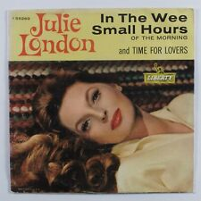 Pop 45 JULIE LONDON In The Wee Small Hours LIBERTY promo picture sleeve