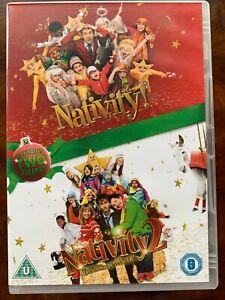 Nativity 1 + 2 DVD Box Set 2009 + 2012 Christmas Family Movie Comedies