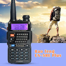 USA Stock BAOFENG UV-5RE PLUS(UV-5R+) Dual-Band VHF/UHF 2 Way Ham Walkie Talkie