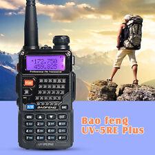 BAOFENG UV-5RE PLUS(5R+) VHF UHF Dual Band FM Radio Ham Walkie Talkie Intercom