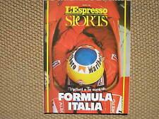 L'ESPRESSO SPORTS 1988 FORMULA 1 CALGARY OLYMPIC GAMES TOMBA WITT KALAMBAY