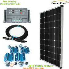 MonoPlus Solar Off Grid 150w 150 Watt Panel Charging Kit for 12v Battery RV Boat
