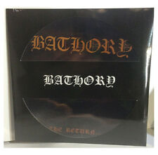 Bathory-The Return.... PIC DISC LP vinyl repress reissue on pic disc vinyl