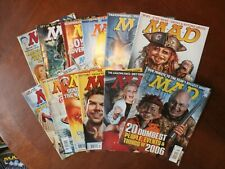 Group Lot 12 Issues 2007 MAD Magazine