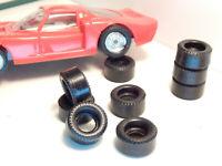 8 URETHANE Back tires slot car 1/32 Polistil us