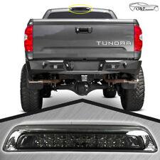 2007 2018 Toyota Tundra Smoke Third 3RD LED Brake Light Rear Cargo Lamp