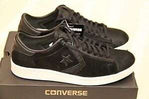 """Converse Pro Leather LP OX W """"Faux Pony Hair Black"""" New (9 US) Limited Max Air"""