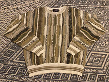 Vintage Coogi Style Sweater Textured Pullover Roundtree & Yorke Size Medium