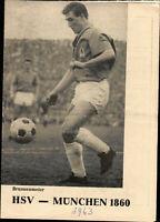 Deutsche Meisterschaft 62/63 Hamburger SV - TSV 1860 München, 29.05.1963