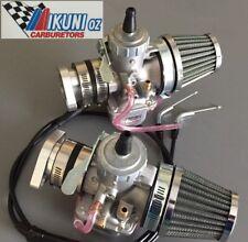 Triumph T140V, T120,BSA carbs, Mikuni VM32 Carburetor Kit w. POD Air-Filters