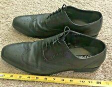 Men's Express Size 11 Dress Shoes Black Wingtip