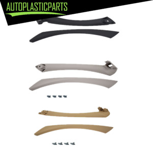Inner Door Panel Handle Outer Pull Trim Cover For BMW E90 328i Right Side