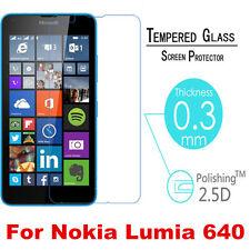 9H Tempered Glass Screen Protector Film Guard For Microsoft Nokia Lumia 640