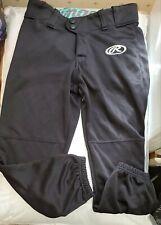 Rawlings Softball Pants. Black, size woman small