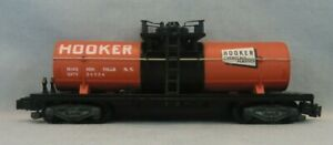 Vintage 1959/60 American Flyer S Scale 24324 Hooker Chemicals Tank Car - VGC