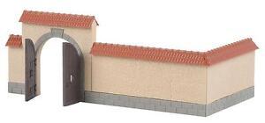 Faller 180400 H0 Mauer mit Tor  #NEU in OVP##