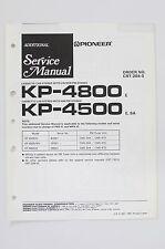 PIONEER kp-4800 kp-4500 original additional Service-Manual/Schema Elettrico! o60