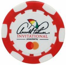 ARNOLD PALMER INVITATIONAL Logo - RED - POKER CHIP Ball Marker