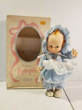 "N 1985 Vintage (Jesco) ""Cameo'S Kewpie"" Doll With Original Box Rare Blue Bonnet"