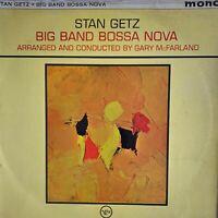 STAN GETZ Big Band Bossa Nova 1963 (Vinyl LP) MONO