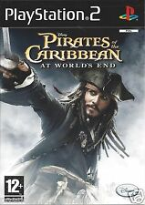 PIRATES OF THE CARIBBEAN - AT WORLD'S END for Playstation 2 PS2 (PAL)