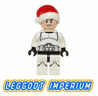 LEGO Minifigure Star Wars - Christmas Clone Trooper - sw596 Santa FREE POST