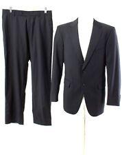 strellson Anzug Gr. Sakko 48 / S Hose 24 (S Kurz) Wolle SUPER 100'S Suit