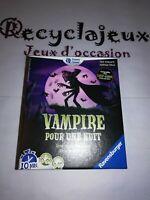 jeu de société d'occasion vampire pour une nuit ravensburger complet TBE
