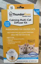 Thunderease Calming Mulit-cat Diffuser Kit Brand New !