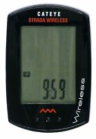 Cateye Strada Wireless 7 Function Cycling Computer Speed Distance Time Fitness