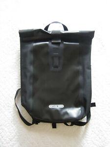 """Ortlieb Black Waterproof Velocity Rolltop Backpack 24"""" x 16"""""""